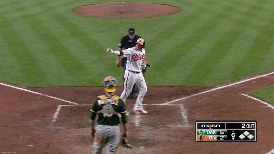 Machado's two-run home run