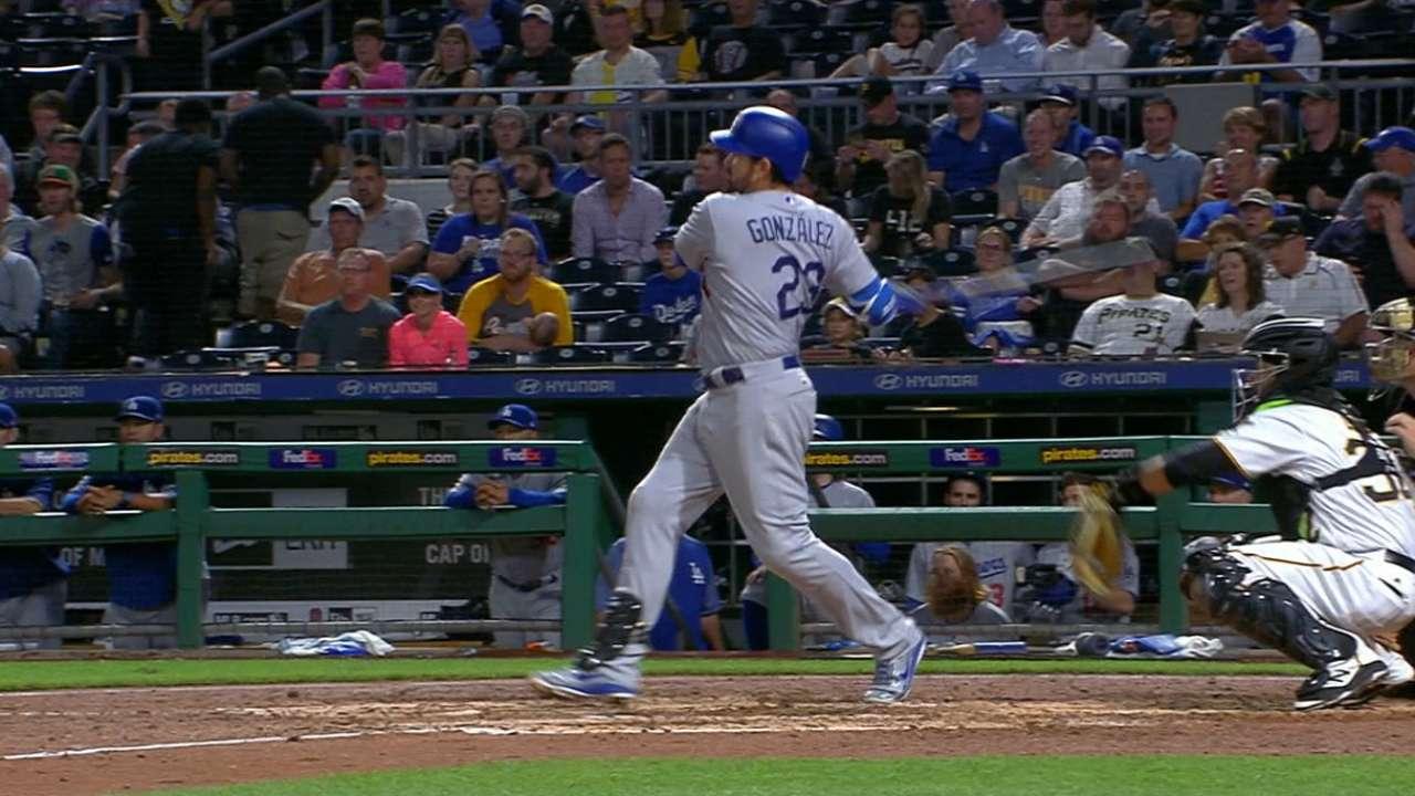 Adrián González llega a 2,000 hits en triunfo de Dodgers sobre Piratas