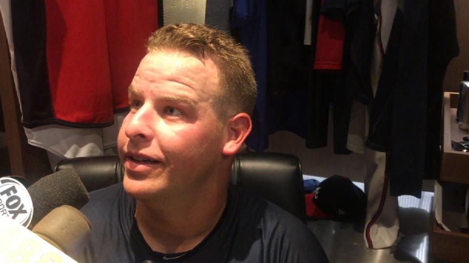 Minter on promotion to Braves
