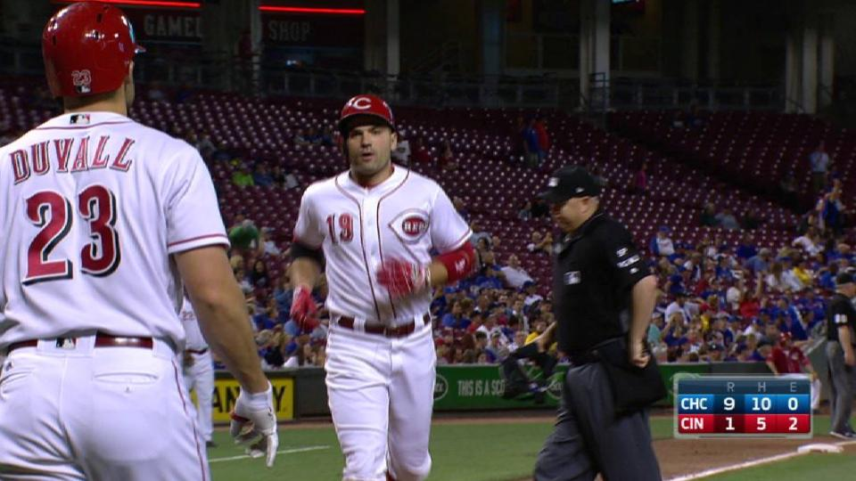 Votto's big fly to center