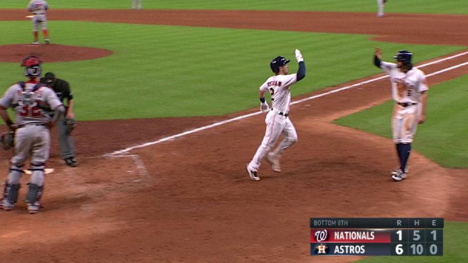 Bregman's three-run homer