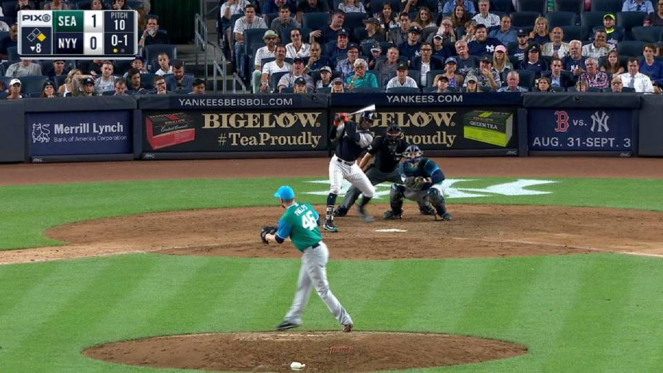 Judge ties the game on an error