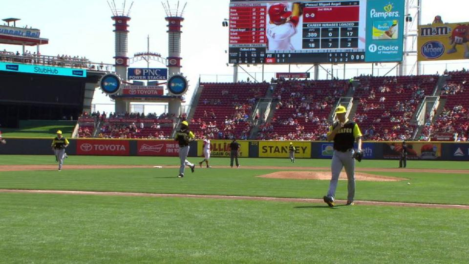 Taillon gets out of trouble