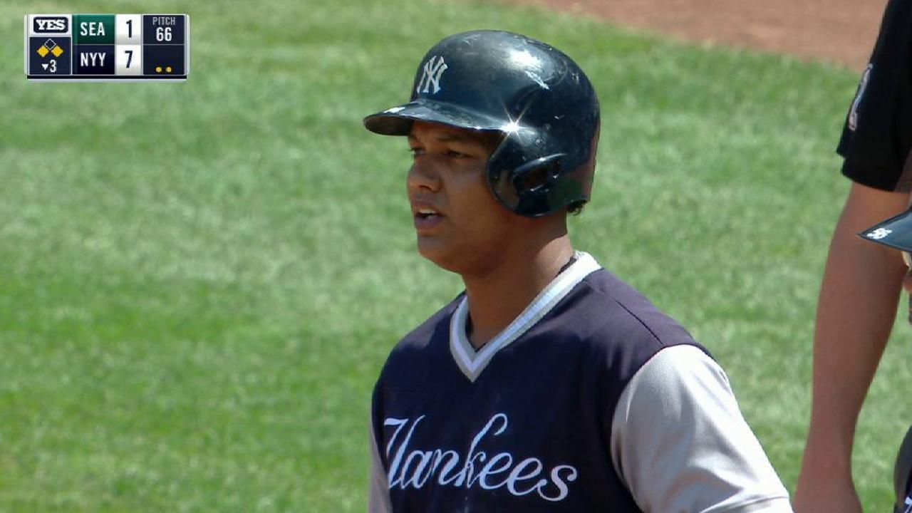 Starlin Castro pega 4 hits y Yankees se llevan serie ante Marineros
