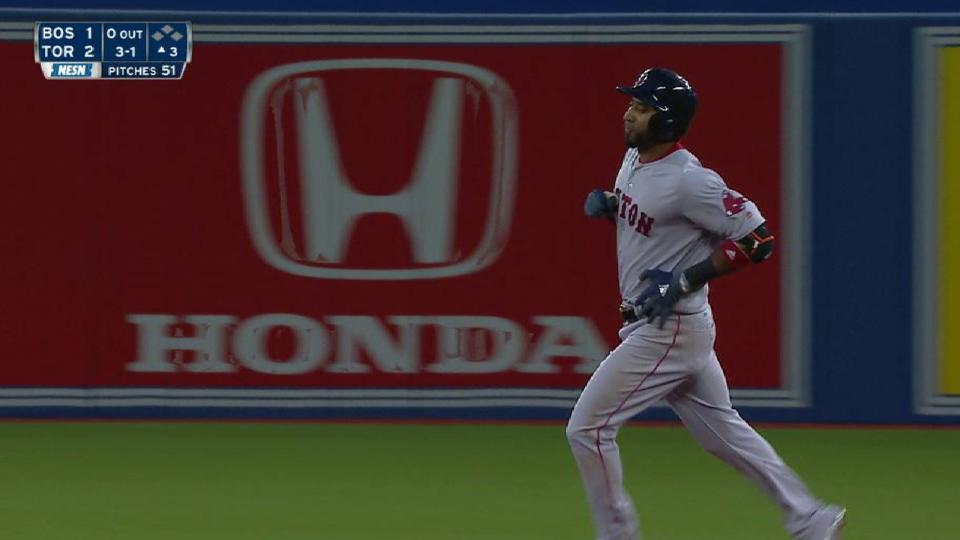 Nunez's solo home run