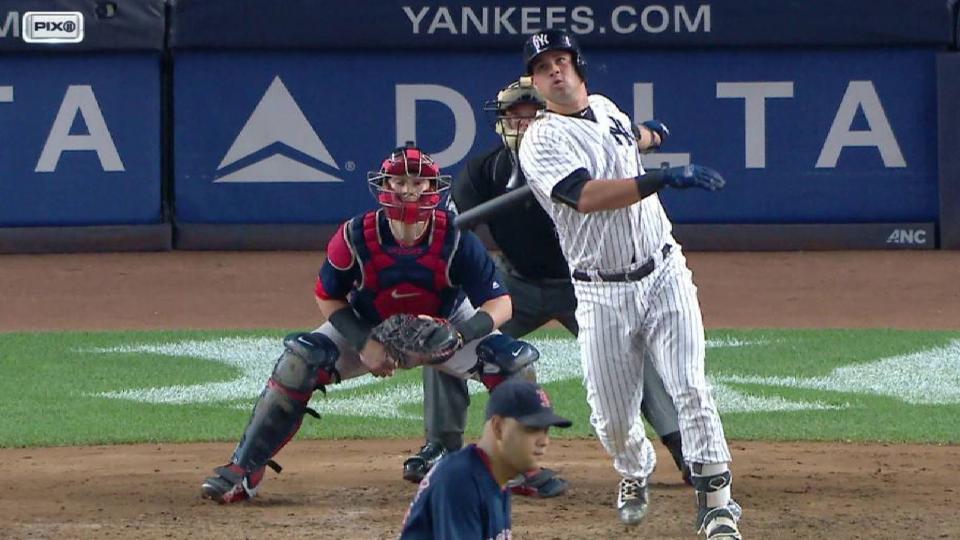 Sanchez's solo home run
