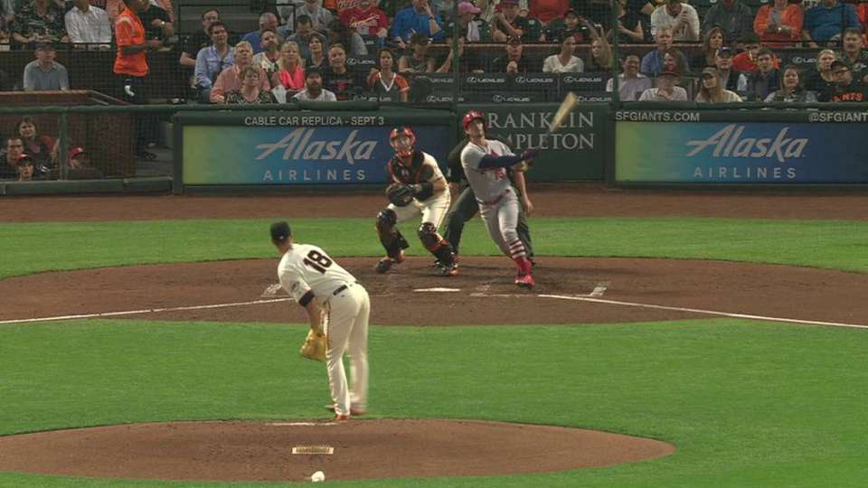Grichuk's two-run jack