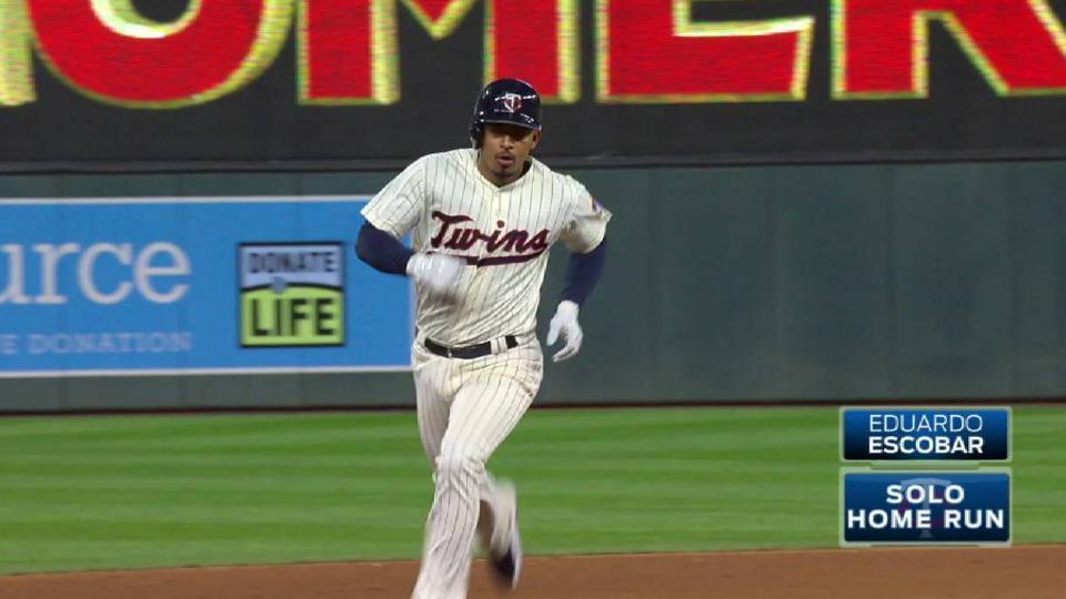 Escobar's monster solo home run