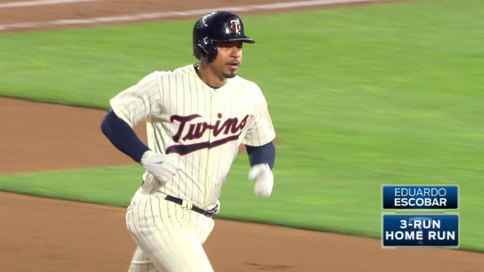 Escobar's second home run