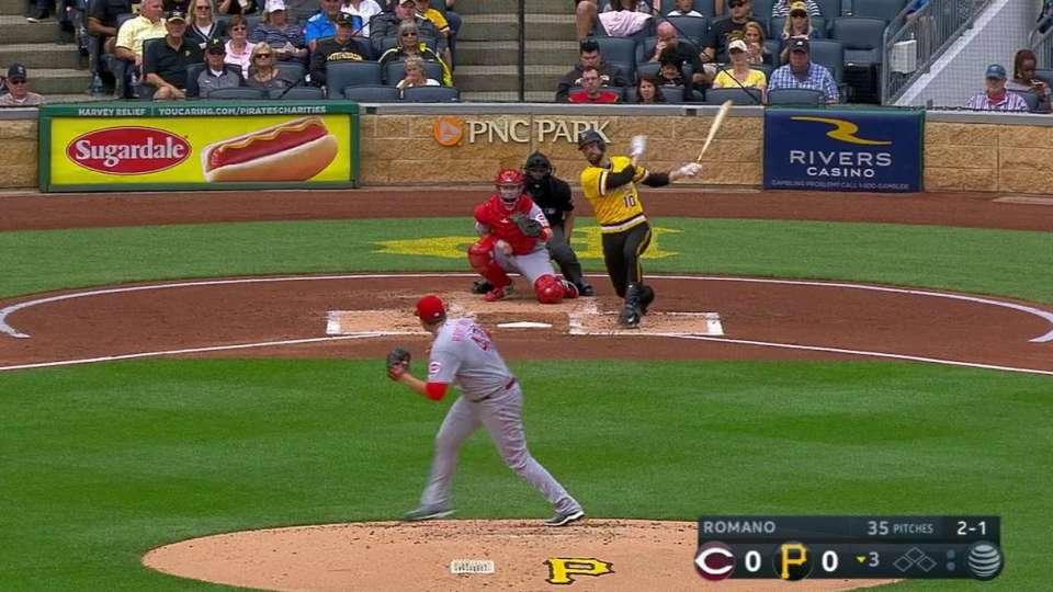 Mercer's solo home run