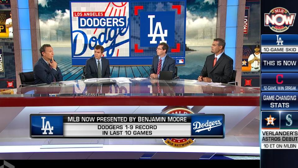 MLB Now: Dodgers in a rut