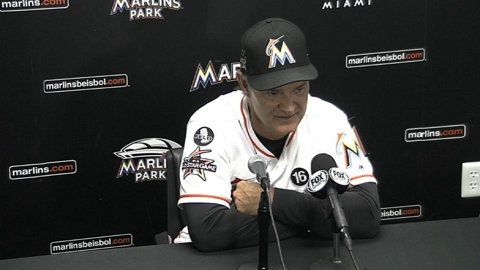 Mattingly on the Marlins' loss