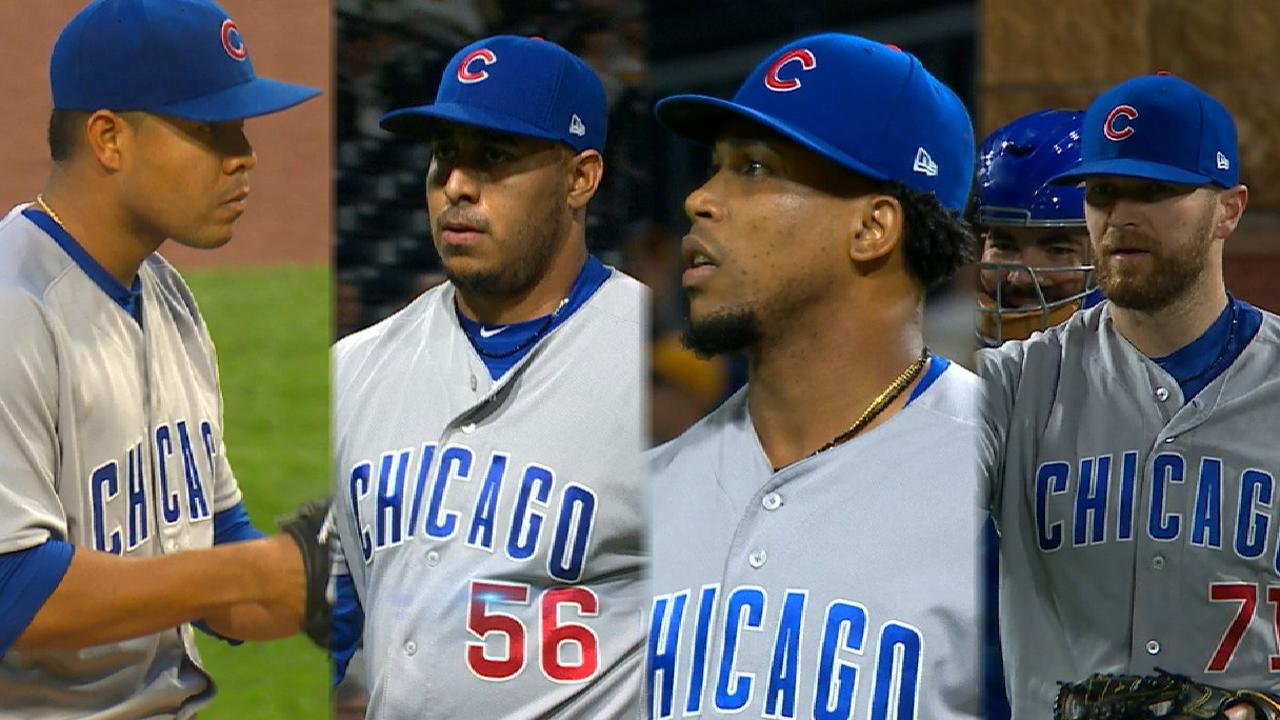Cubs shut out the Pirates