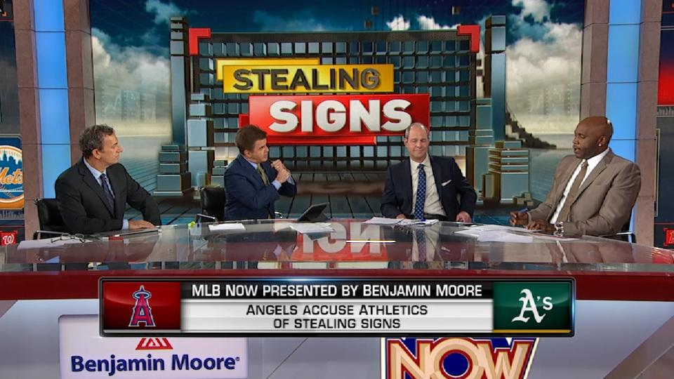 MLB Now: Sign stealing