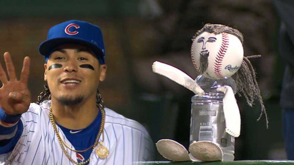 Brewers Made A Javy Baez Baseball Doll And He Got A Kick