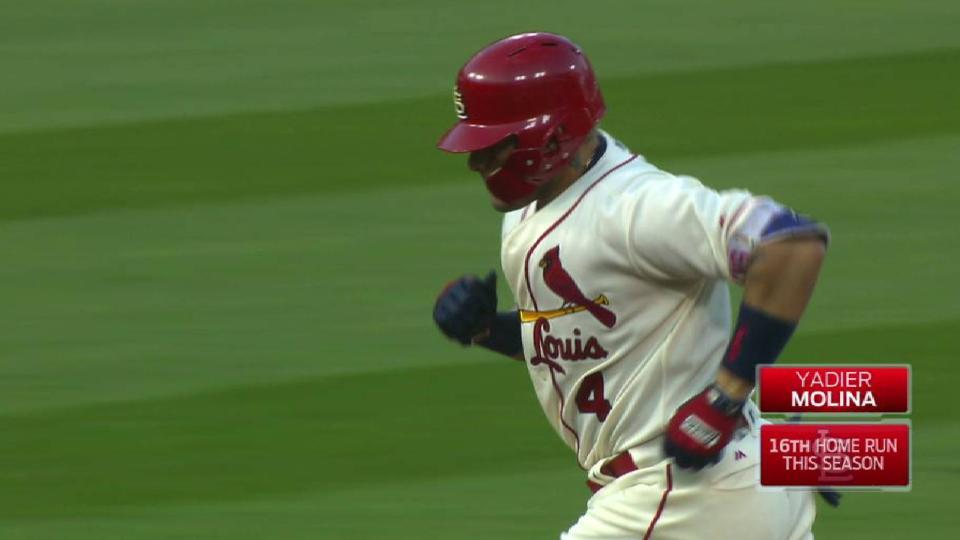 Molina's two-run jack
