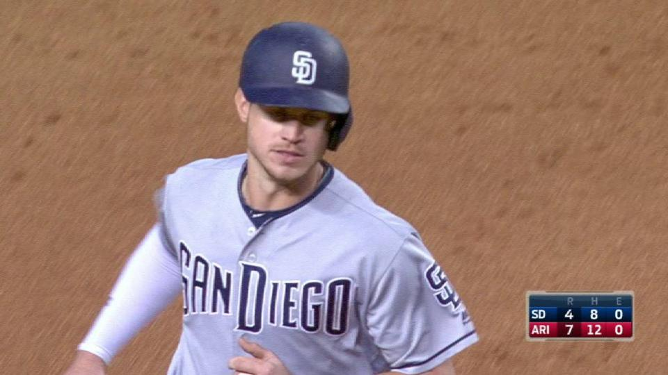 Myers' second two-run homer