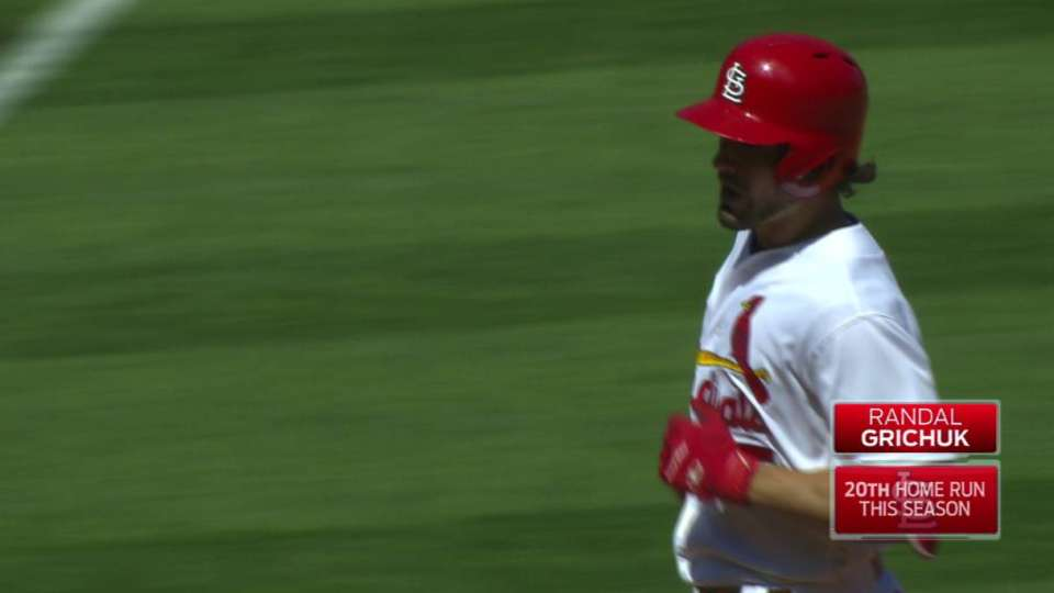 Grichuk's solo home run