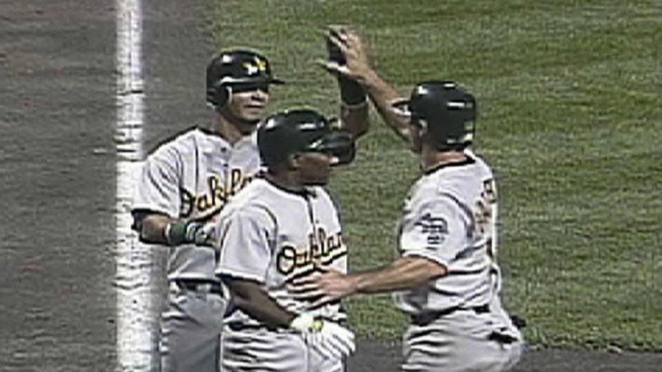 2002 A's Win Streak: Win No. 6