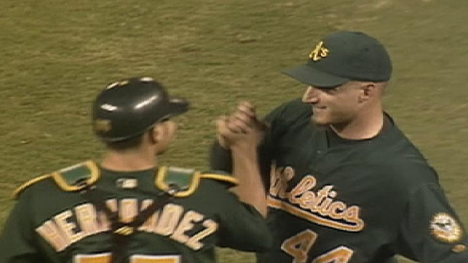 2002 A's Win Streak: Win No. 14