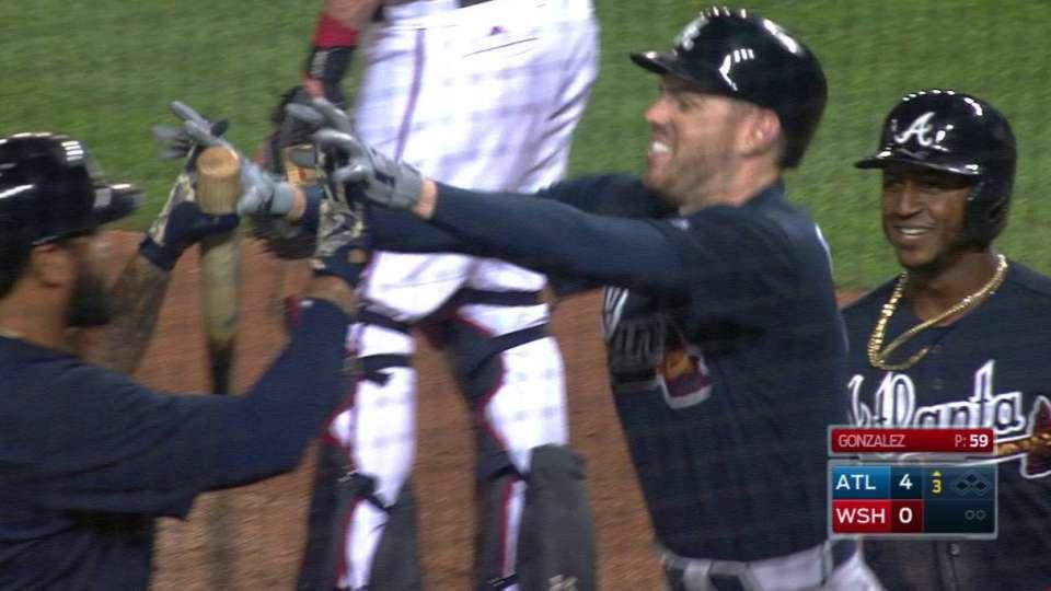 Freeman's three-run homer