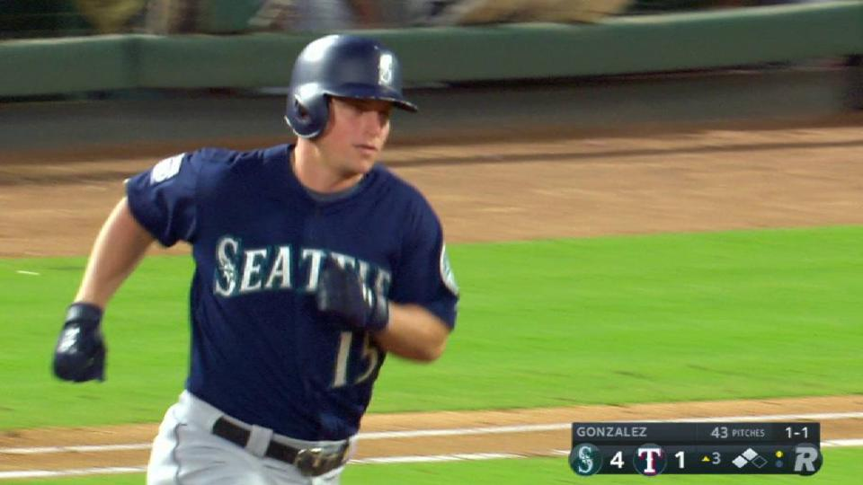 Seager's three-run smash