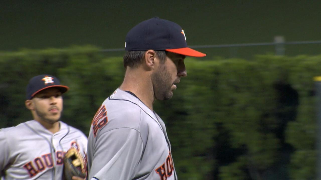 Astros blanquearon a Angelinos con joya de un hit de Verlander
