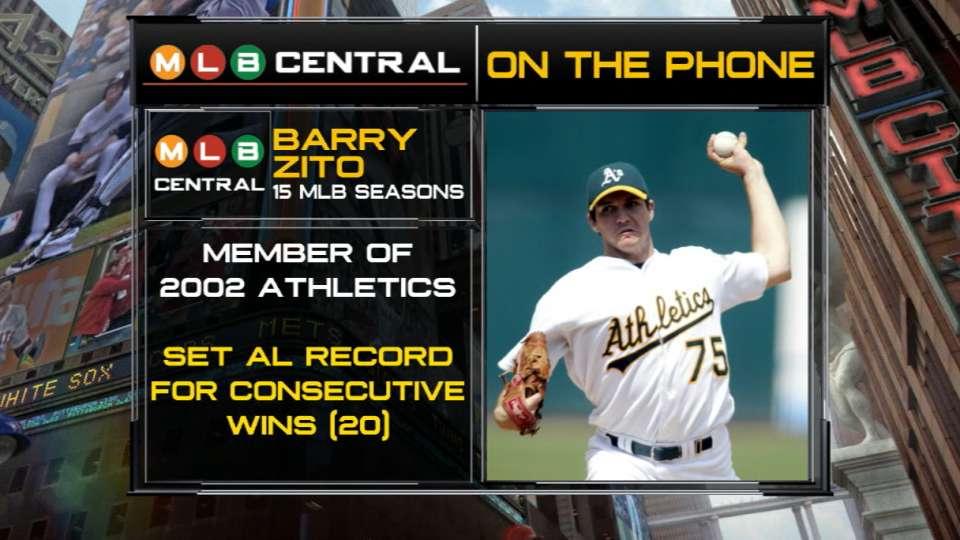 Barry Zito on A's 2002 streak