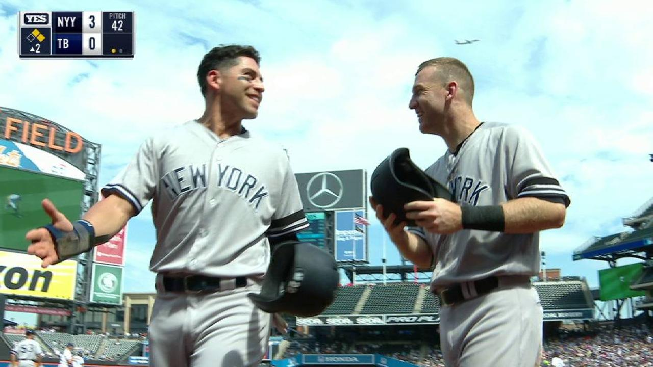 Yankees vencen a Rays para llevarse la serie en el Citi Field