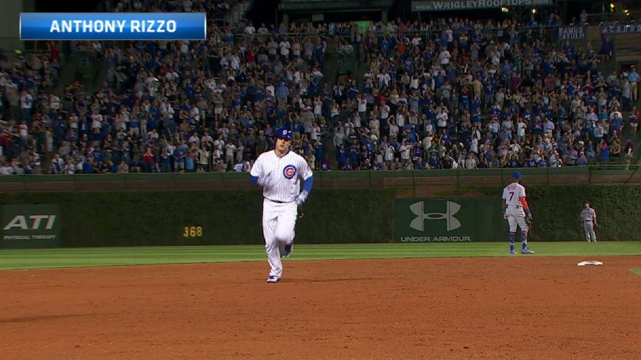 Anthony Rizzo acaricia el ciclo y Cachorros se imponen a los Mets