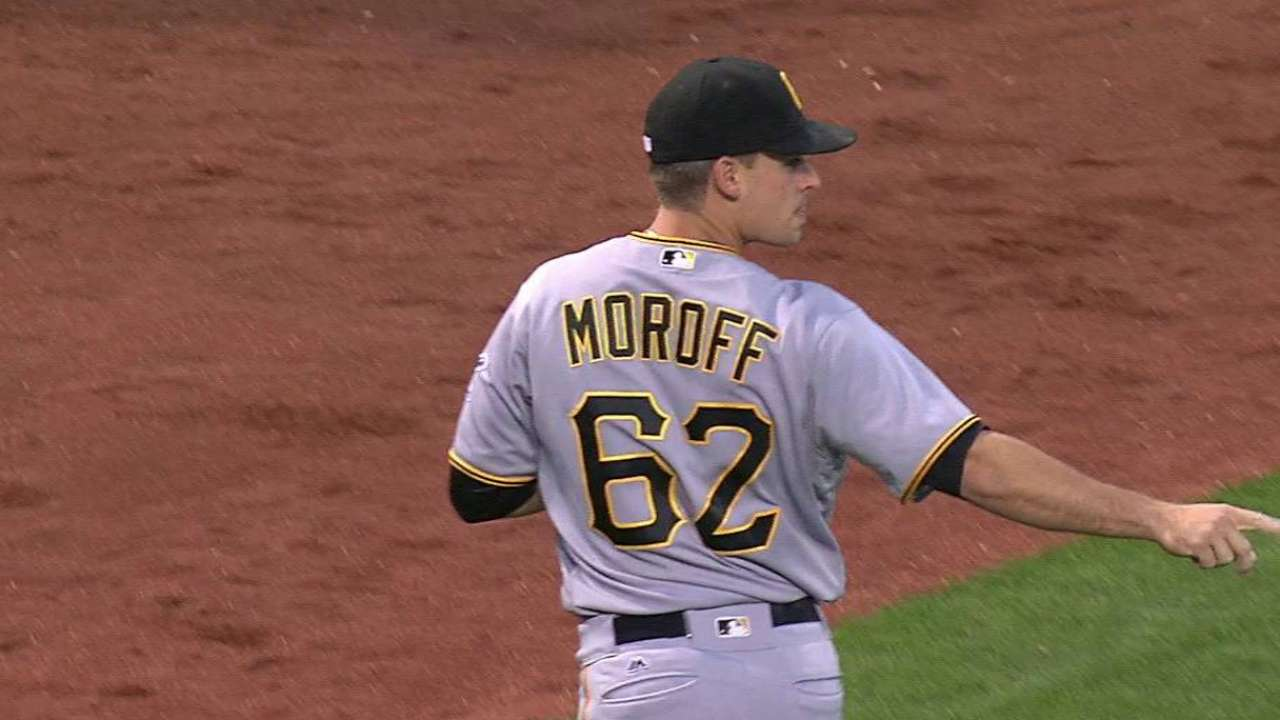 Pirates not concerned about depth at shortstop mlb moroff robs bailey with barehand negle Gallery