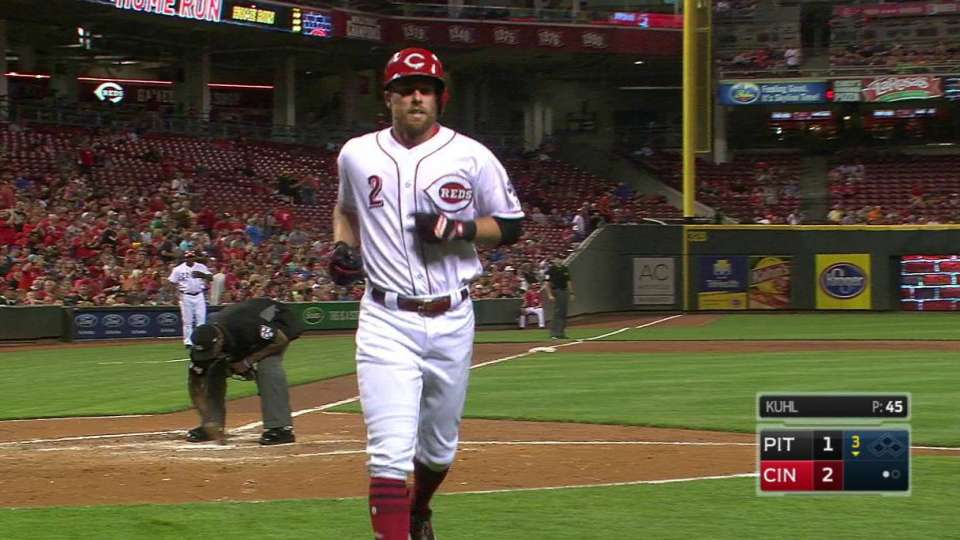 Cozart's solo homer in the 3rd