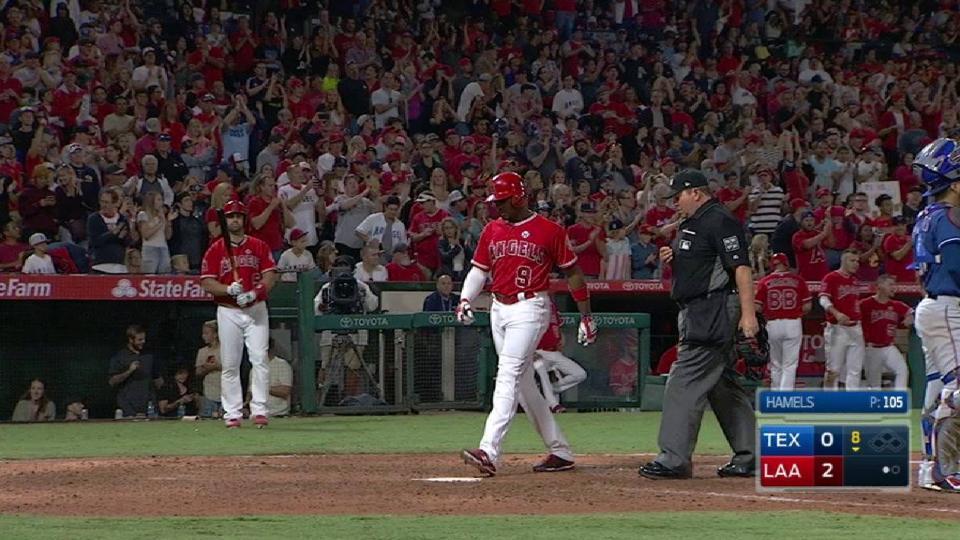 Upton's second solo home run
