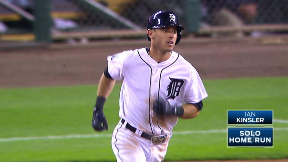 Kinsler's laser home run