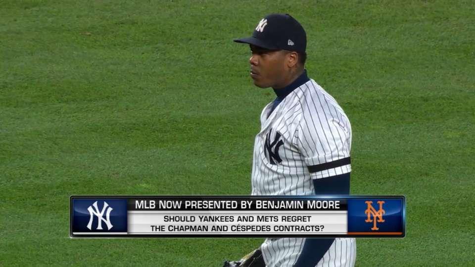 MLB Now on Cespedes, Chapman