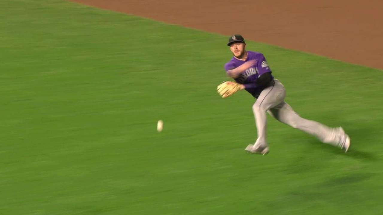 Rockies trevor story hopes to win gg one day colorado rockies storys barehanded play fandeluxe Choice Image