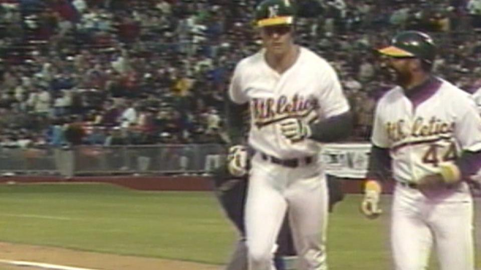 McGwire's 14th homer of 1987