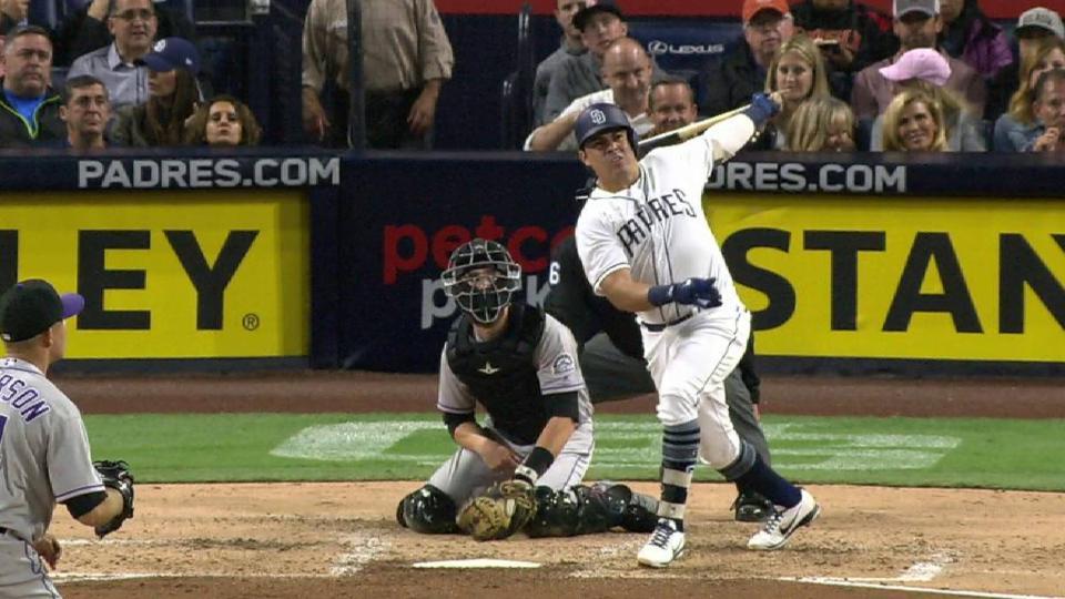 Villanueva's solo home run