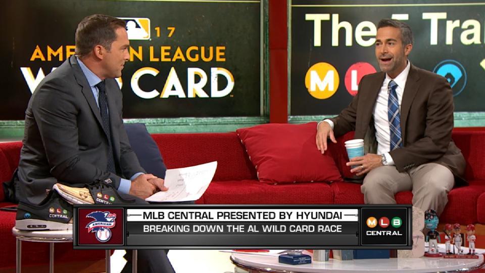 MLB Central: AL Wild Card race