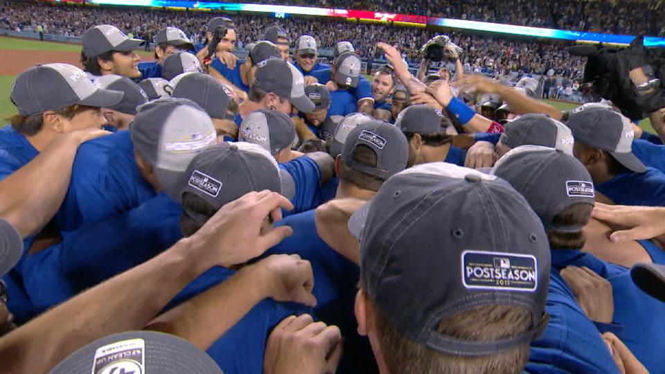 Dodgers clinch 2017 NL West