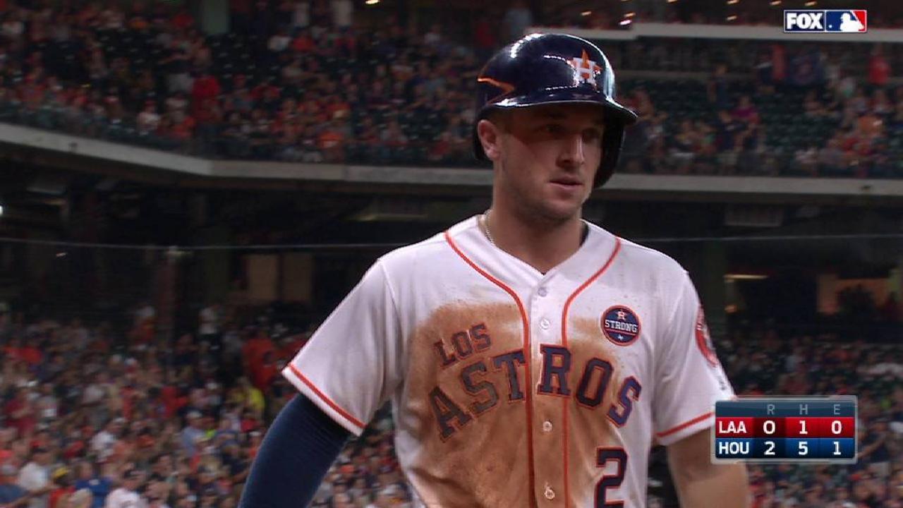 Astros logran victoria contundente y hunden más a los Angelinos