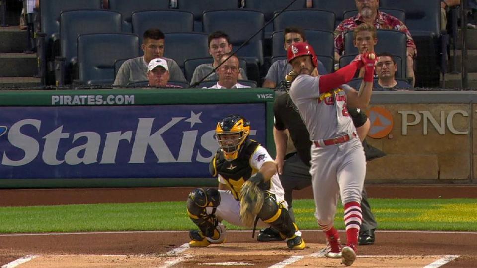 Pham's two-run homer