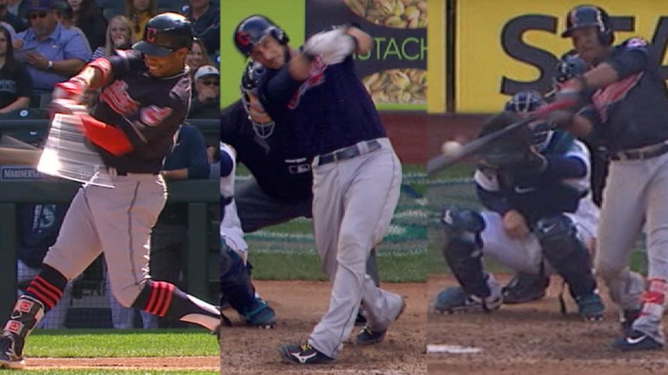 Indians' four-homer game
