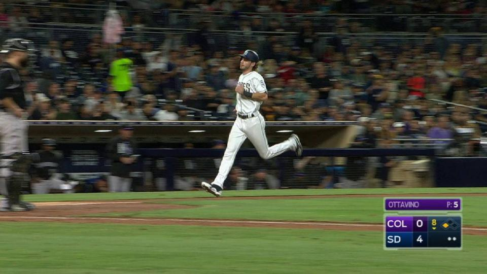Margot extends lead with sac fly