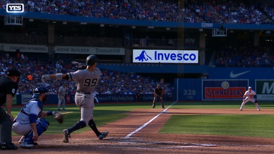 Judge's 48th home run