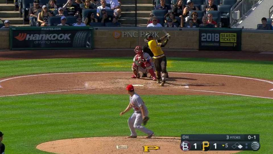 Marte's go-ahead two-run homer