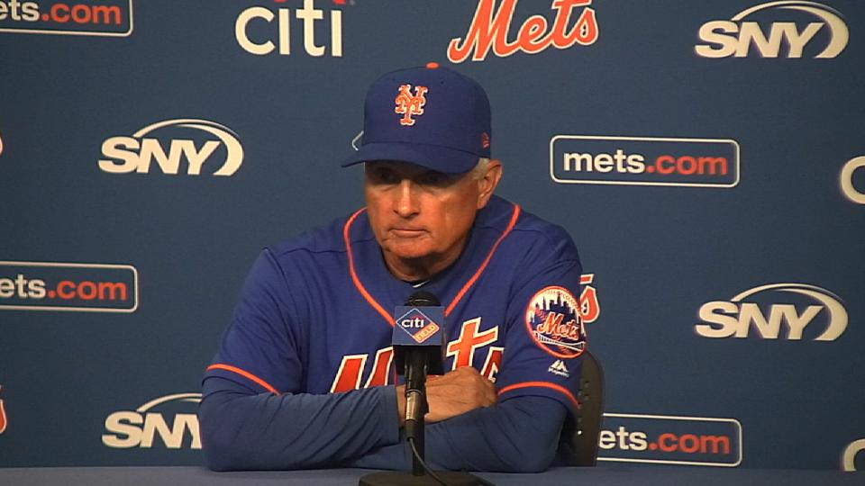 Collins on the Mets' 3-2 win
