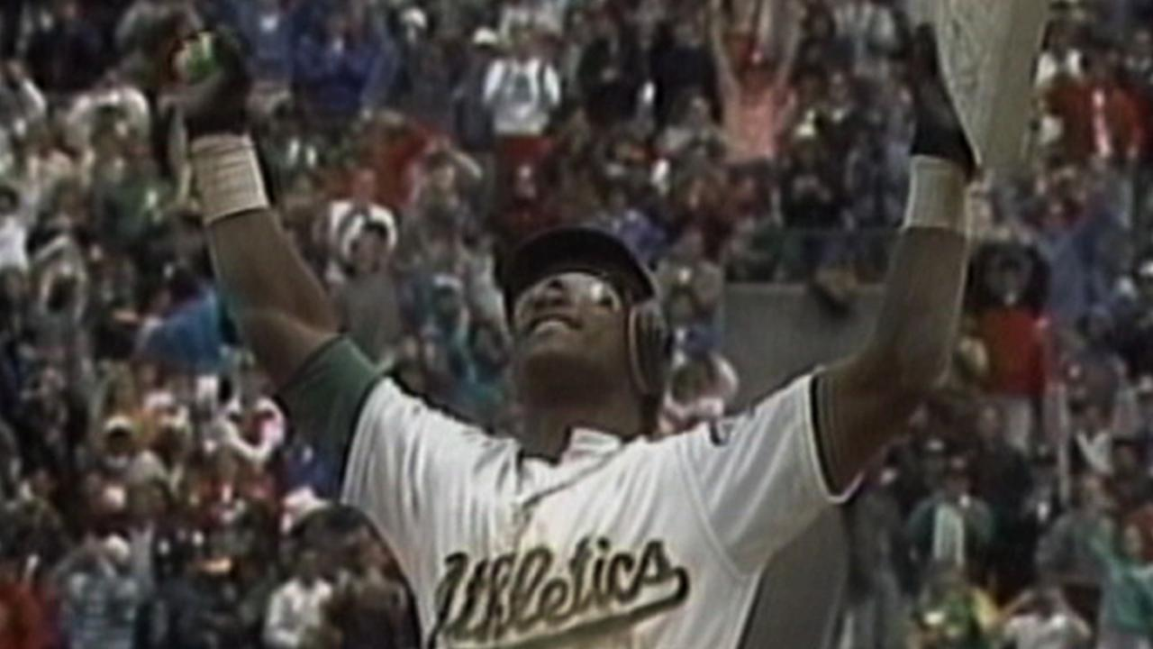 Rickey Henderson broke MLB's career steals record on this
