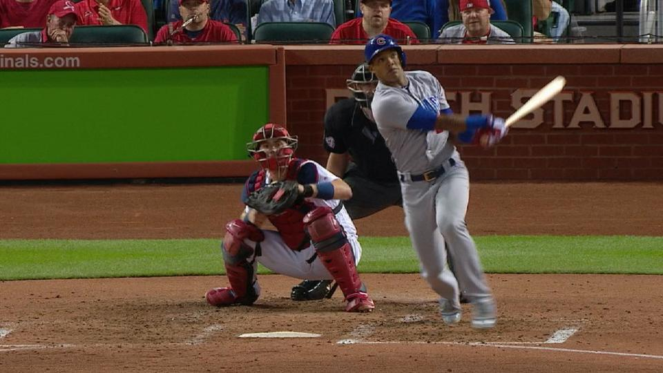 Russell's go-ahead homer in 7th