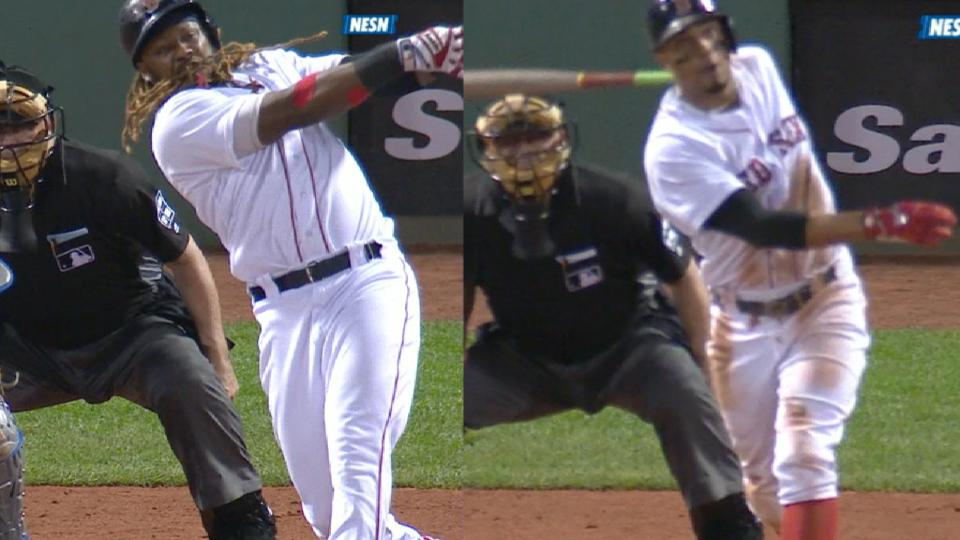 Red Sox's five-run 3rd